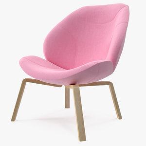 softline eden chair pink max