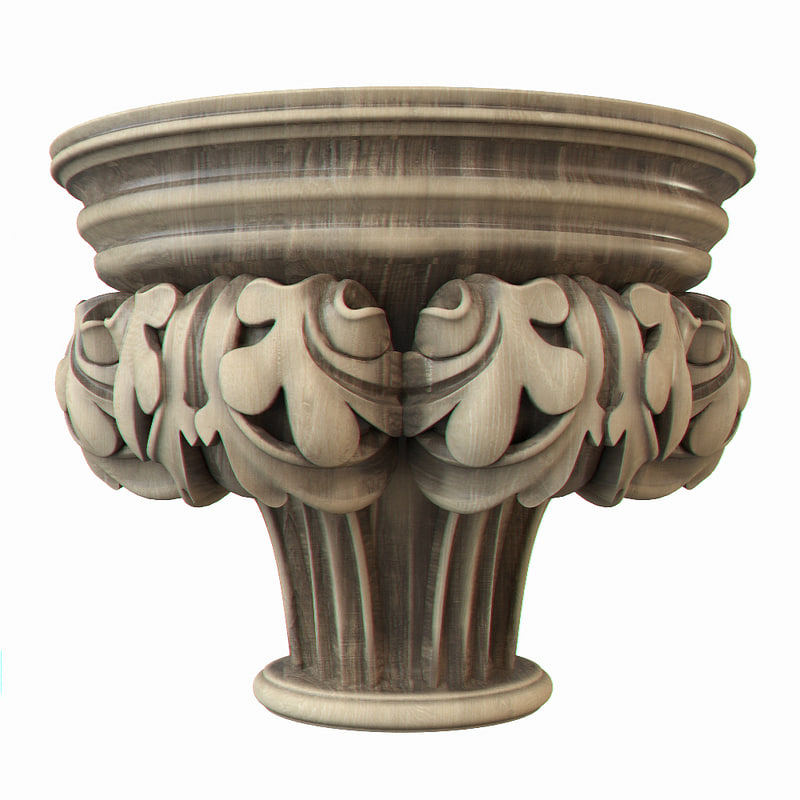 3ds max gothic pilaster
