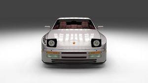 3d porsche 944 turbo s interior