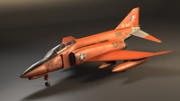 f-4 phantom ii 3d obj