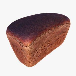 soviet bread 3d model