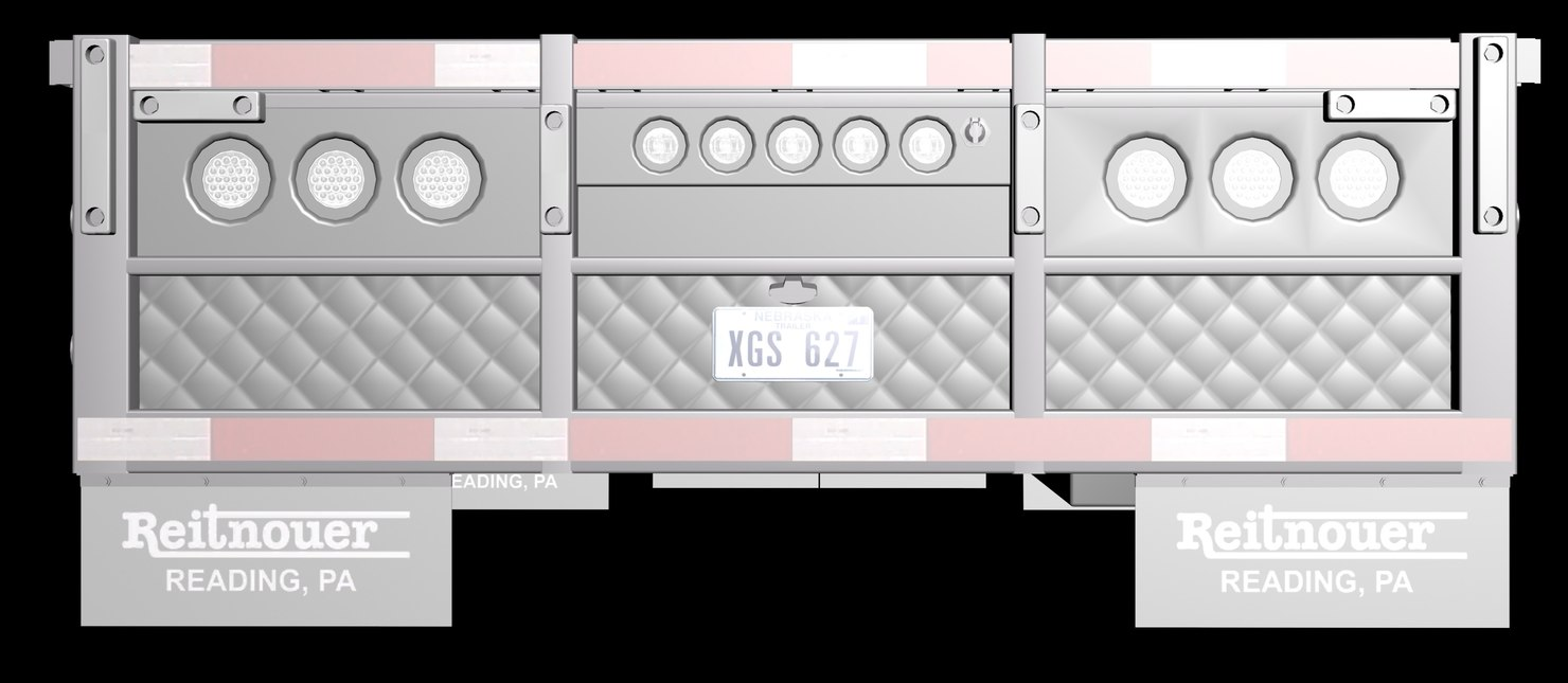3d obj reitnouer trailer aluminium