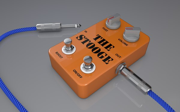 3d guitar pedal