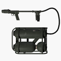 Flamethrower Military Weapon 1 - Authentic Torch