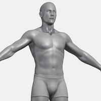 Male Human Body