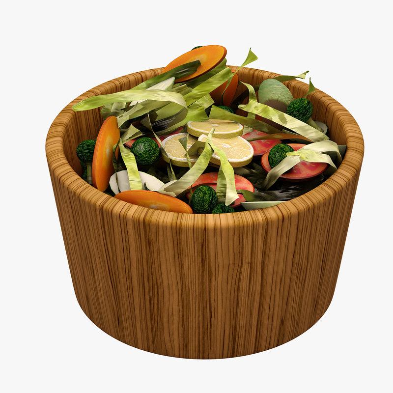3d salad