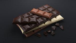 realistic chocolate bars max