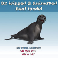 seal animation rigging max