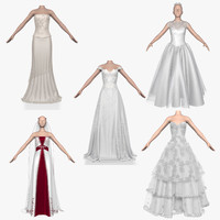Collection of Wedding Dresses 5 in 1