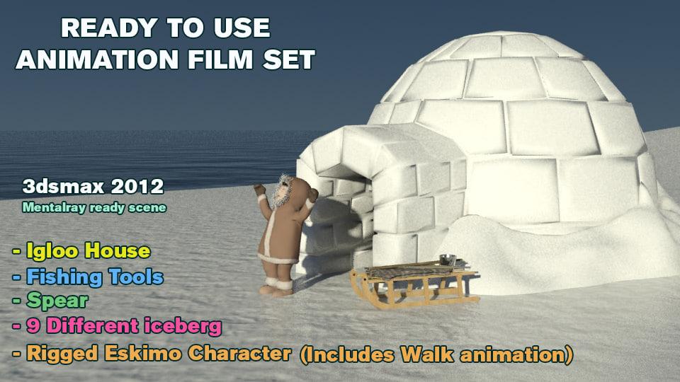 max animation set film