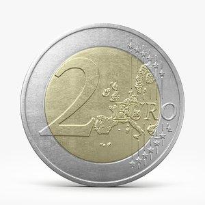 c4d euro coin