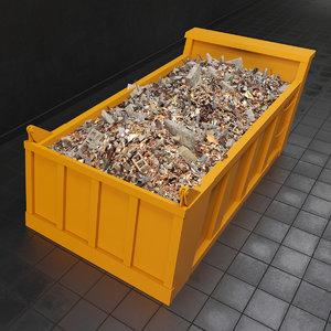 3d model garbage dump