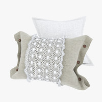 3ds max pillows country cushion