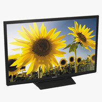 3d model samsung led h4500 series