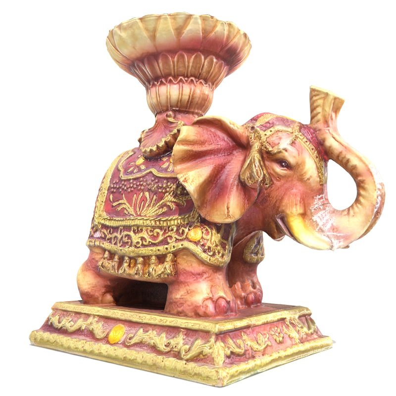 elephant statuette ready max
