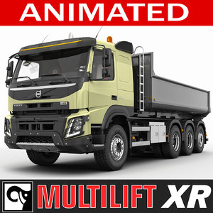 3ds max truck fmx multilift