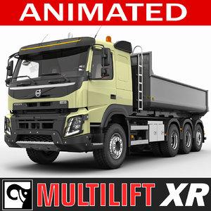 3ds max truck fmx multilift