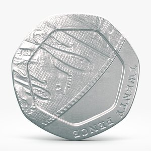 3d pence coin