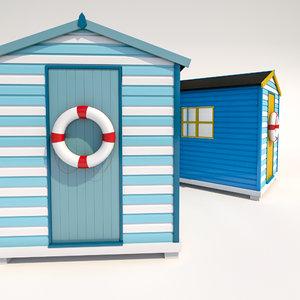 max beach hut