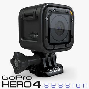 video camera 3d max