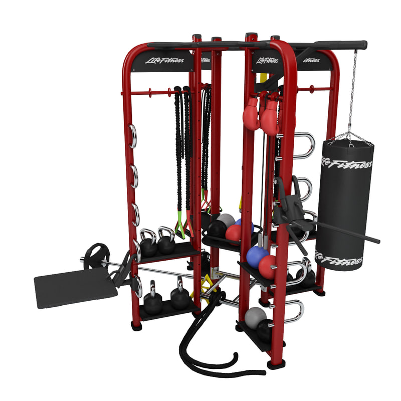 3d model fitness synrgy360 xs