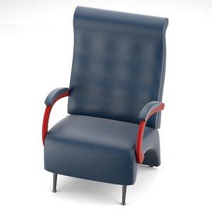 blend massive armchair