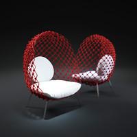dragnet-chair 3d max