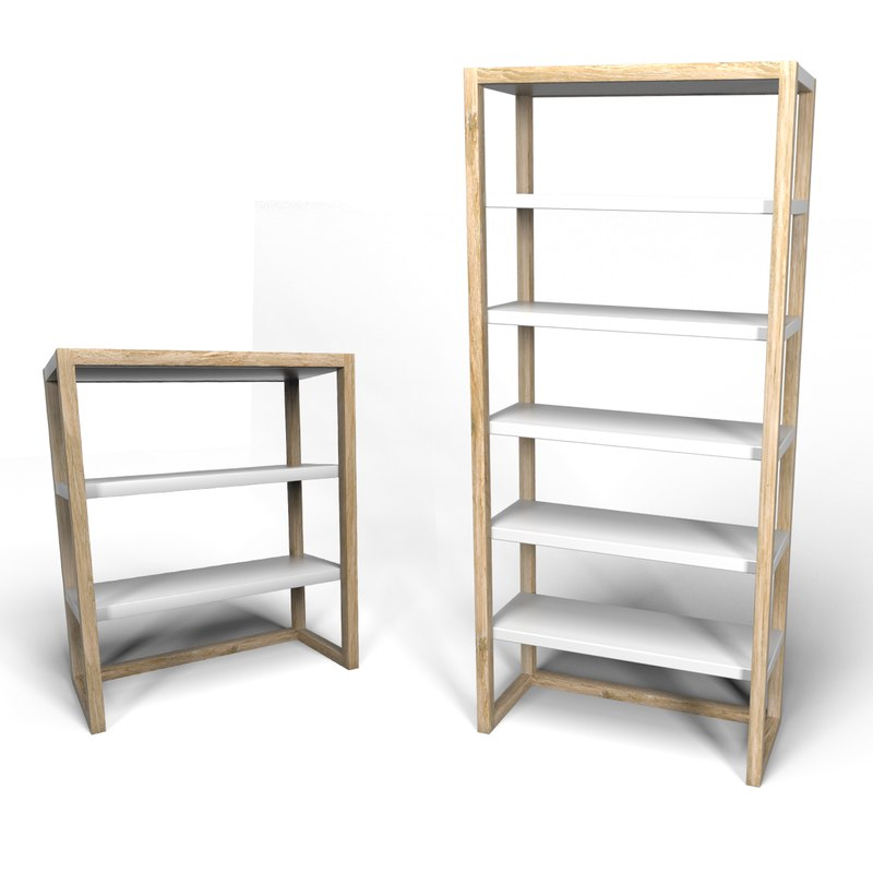 lark shelves 3d model