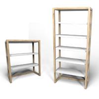 lark shelves 3d model