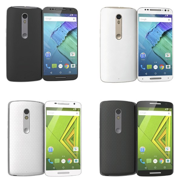 3d motorola moto x play model