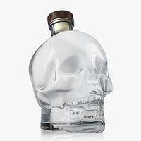 3d model crystal head vodka