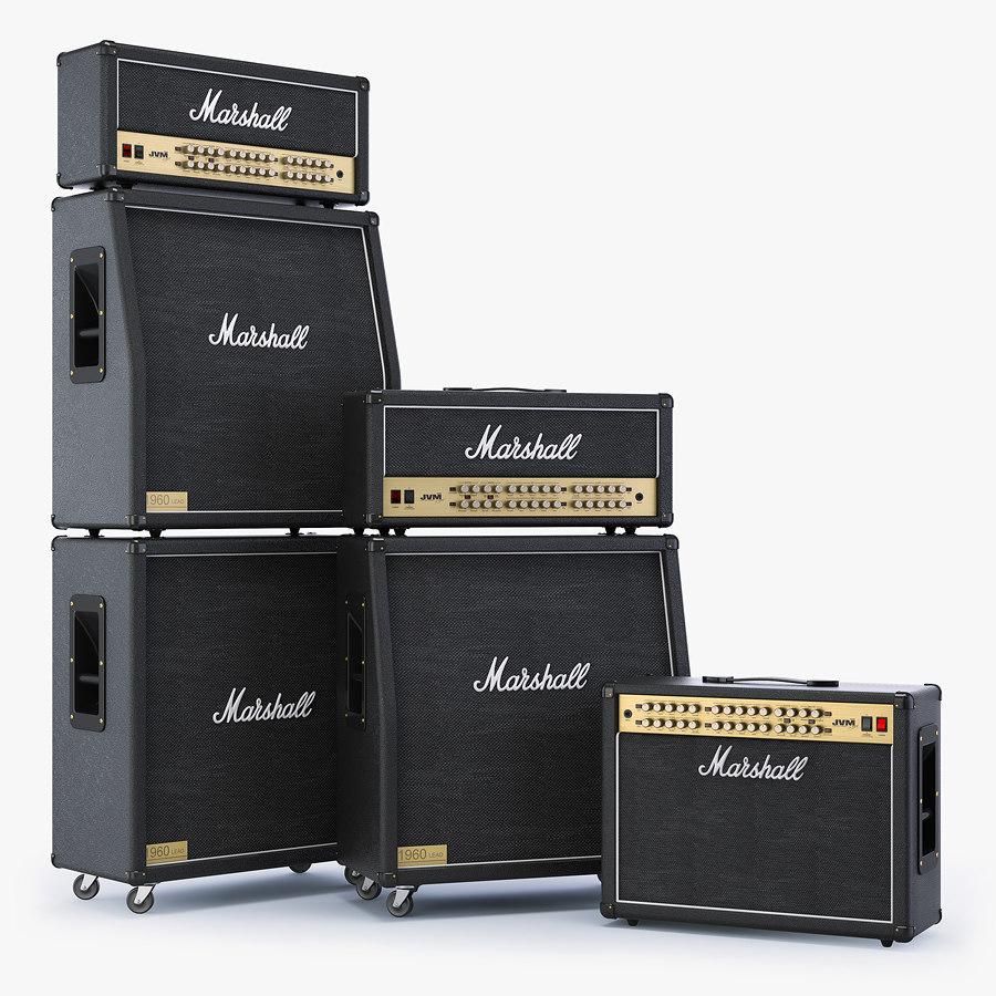 speaker marshall jvm series 3d model