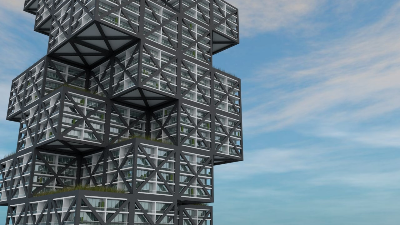maya tower cubic