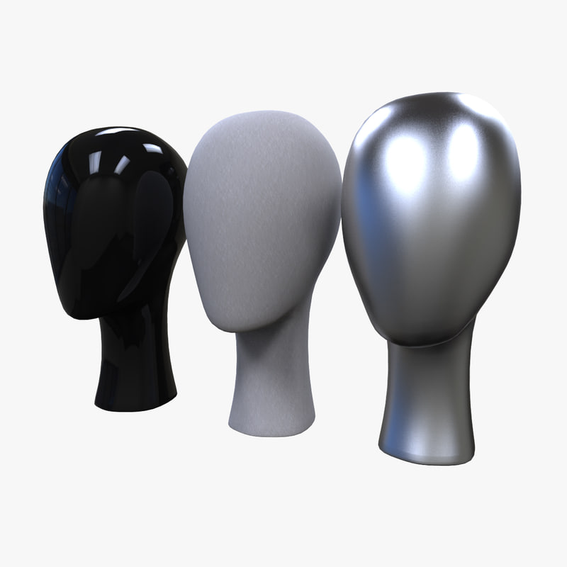 3ds max realistic display head