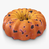 realistic pumpkin buttermilk cake 3ds