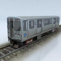 3d train cta model