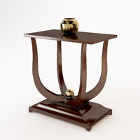 bedside table christopher guy 3d model
