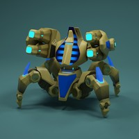 3d robot immortal model