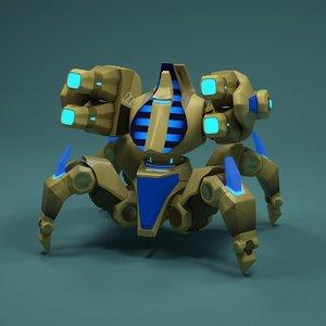 3d robot immortal model