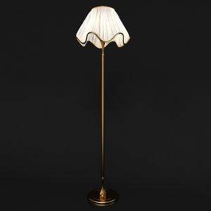 lamp gold fabric max