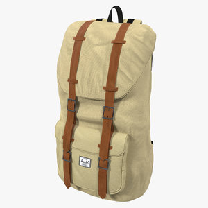 3d backpack 8 beige
