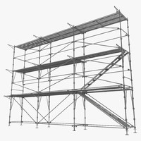 3dsmax scaffolding build