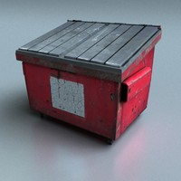 3d dumpster real time
