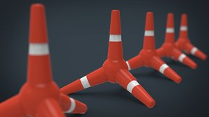 obj police cone