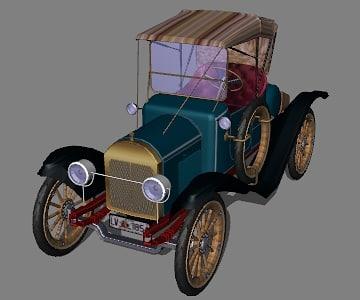 3d model herreshoff runabout