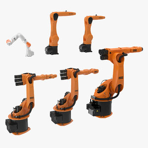 3d kuka robots