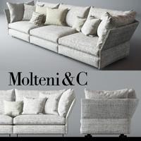 Molteni & C Holiday Sofa