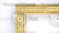 3ds max decorative frame