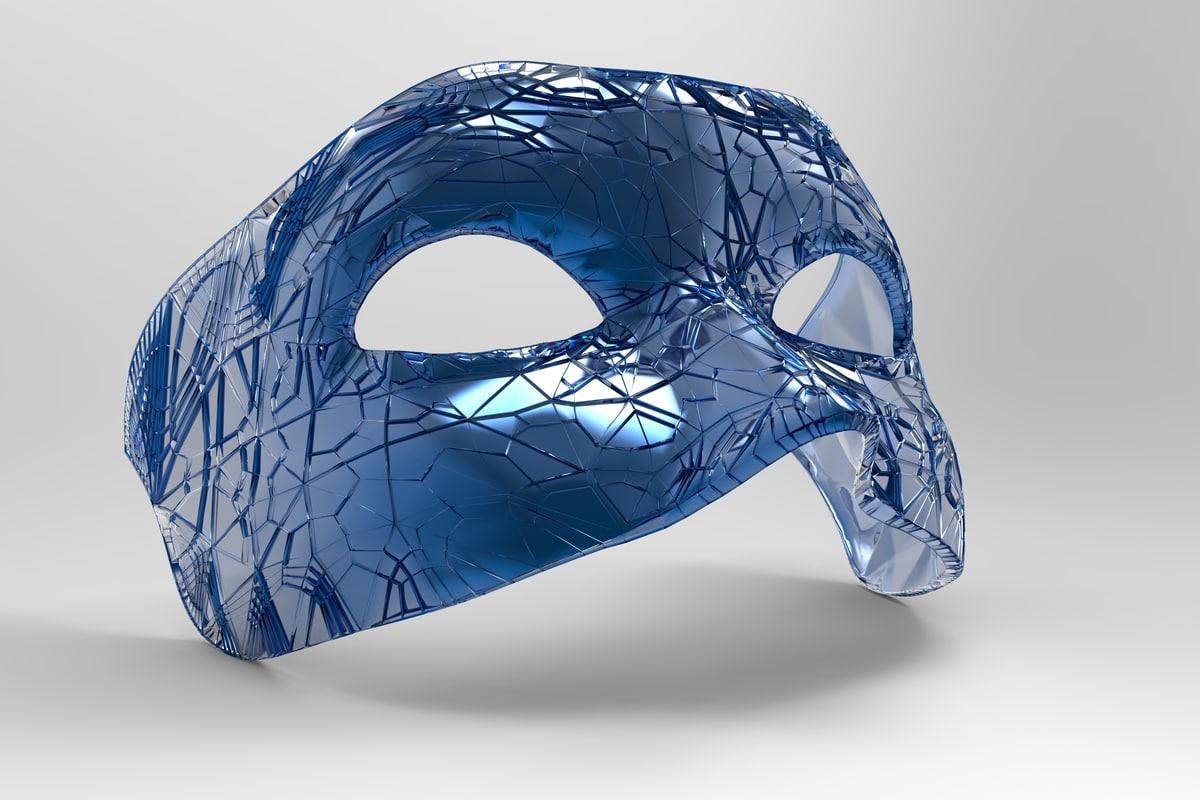 3d mask carnival