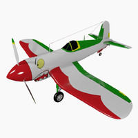 aircraft f4u 3d obj